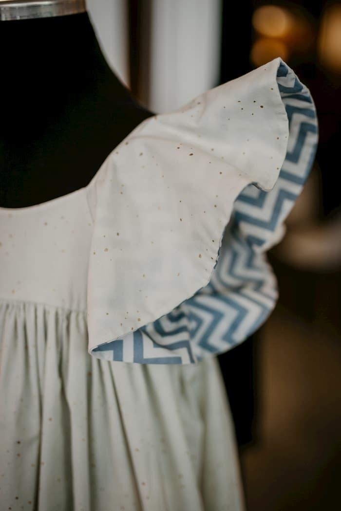 Flügelärmel Kleid bei piaf&ponti
